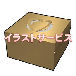 ケーキの箱003