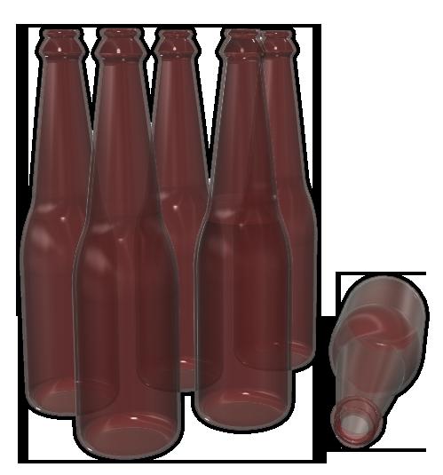ビール瓶011