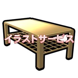 ガラステーブルA002