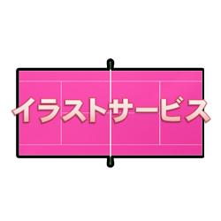 テニスコート001